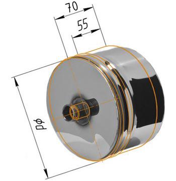 Заглушки с конденсатоотводом для дымохода