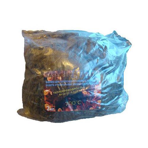 Базальтовая вата для набивки ППУ, 2 кг
