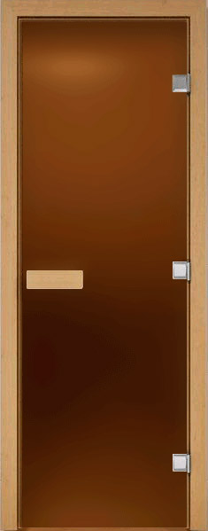 Дверь для сауны {amp}quot;Бронза{amp}quot;