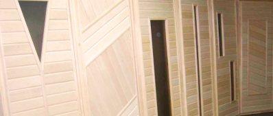 Дверь для бани липа купить за 2200 руб