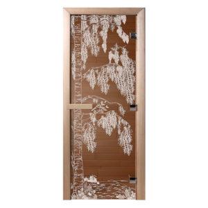 Дверь для сауны «Береза»